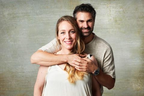 Erika y Javier